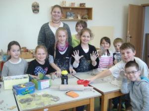 keramika - šk. družina