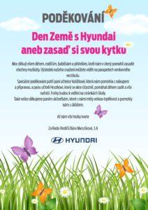 Akce zasaď květinu s hyundai-PODĚKOVÁNÍ