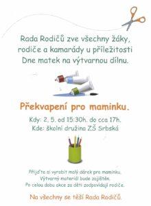 Rada rodičů plakát