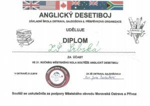 diplom Anglický desetiboj jpg